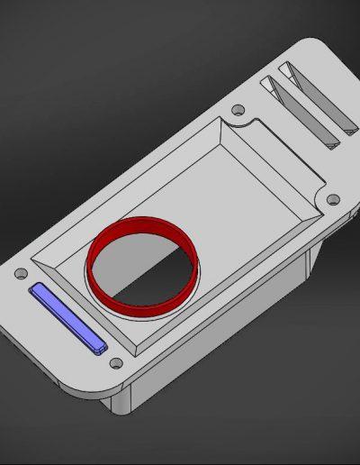 Disccovery 4 Keybox bracket model