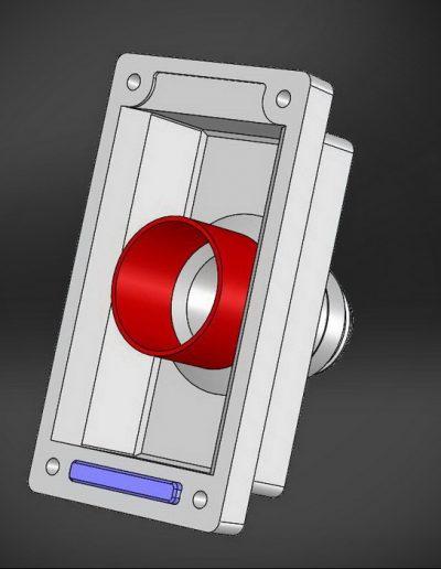 Discovery 4 Lighter plug bracket model