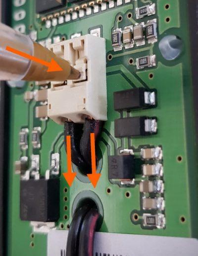 XLifter power wiring
